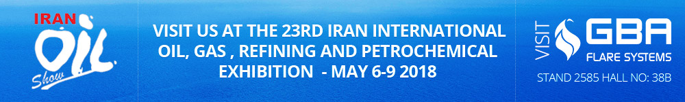 Join GBA at the Iran Oil Show 2018